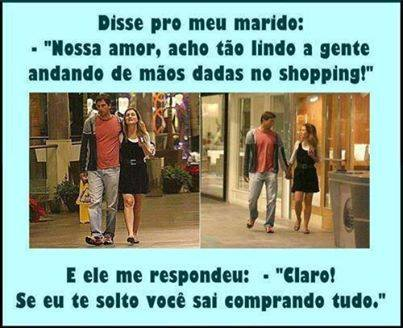 Passeio no shopping