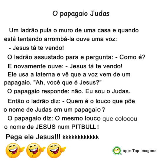 O papagaio Judas