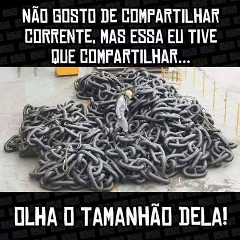 Compartilhando corrente