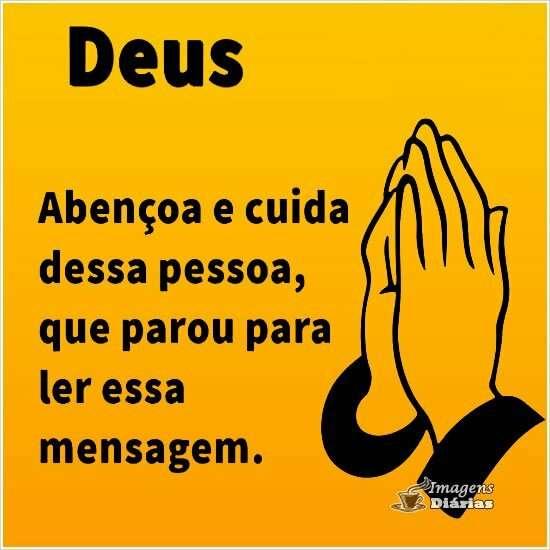 Deus te abençoa