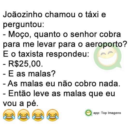 Joãozinho e o táxi