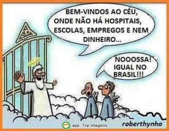 Chegando no céu
