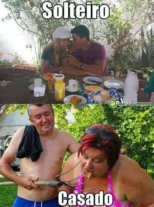 Diferença entre solteiro e casado