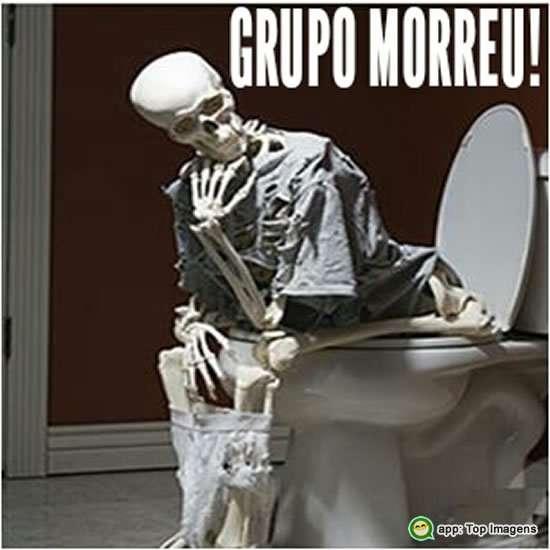 O grupo morreu