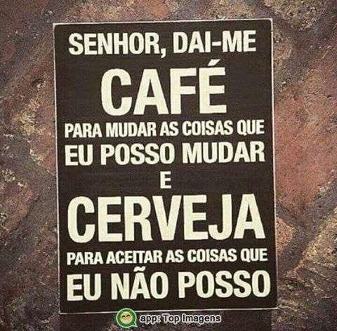 Dai-me café e cerveja