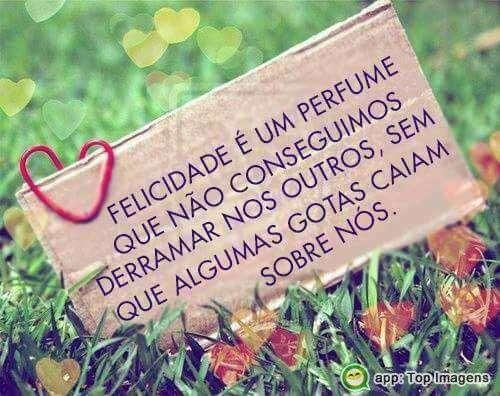 Felicidade é um perfume