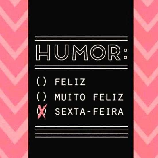 Humor na sexta
