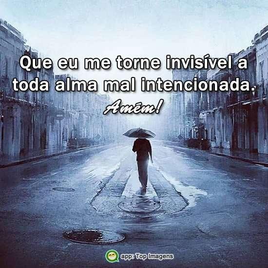 Invisível ao mal