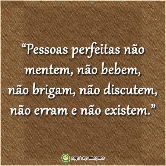 Pessoas perfeitas
