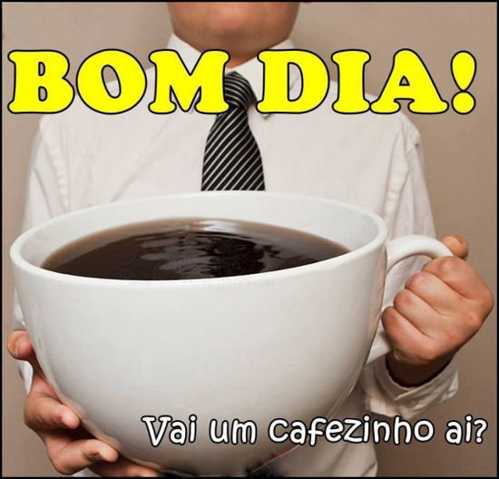 Vai um cafezinho ai?