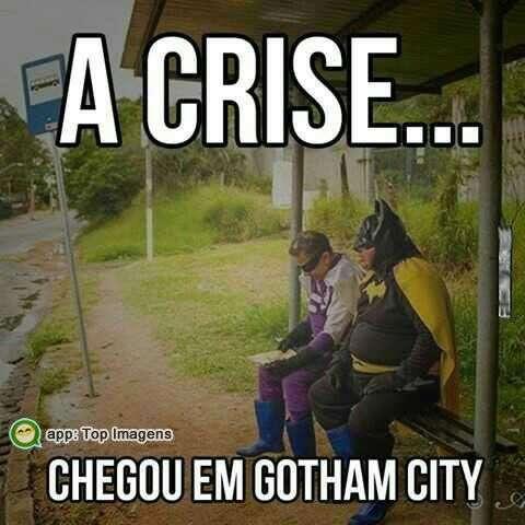 A crise ta feia