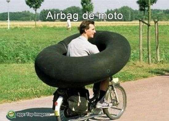 Airbag para motociclistas