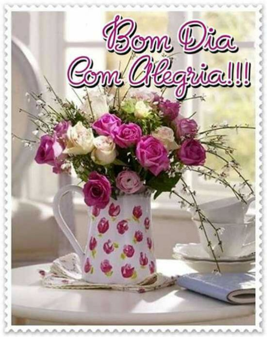 Bom dia com alegria