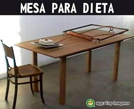 Mesa para dieta