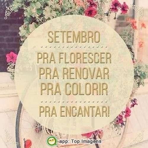 Setembro pra florescer
