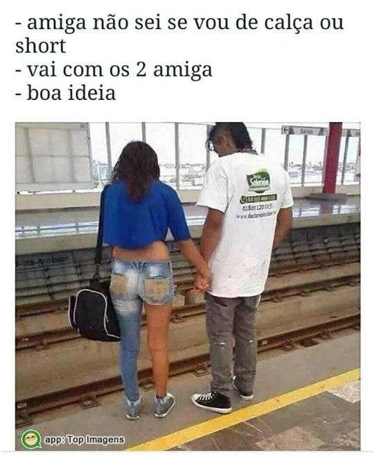 Calça ou short