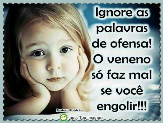 Ignore as ofensas