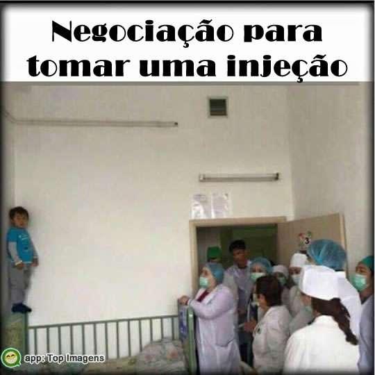 Negociação no hospital