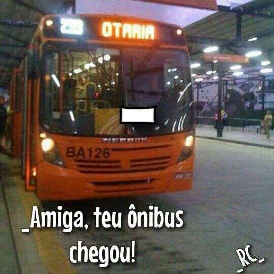 Ônibus da amiga