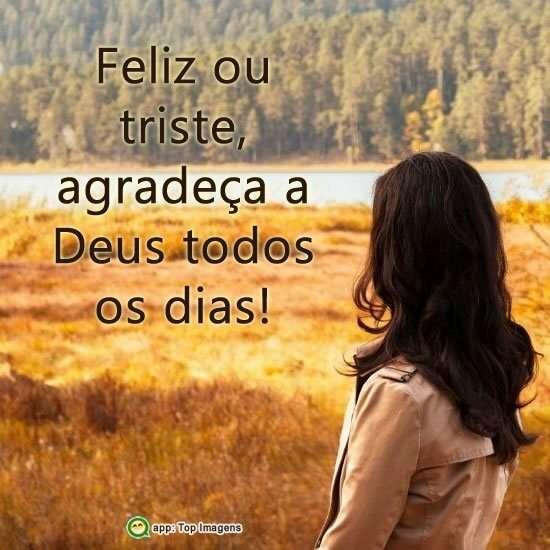 Agradeça a Deus
