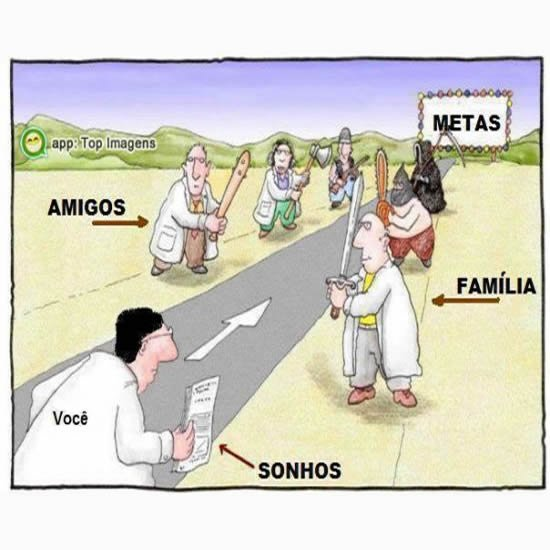 Alcançando as metas