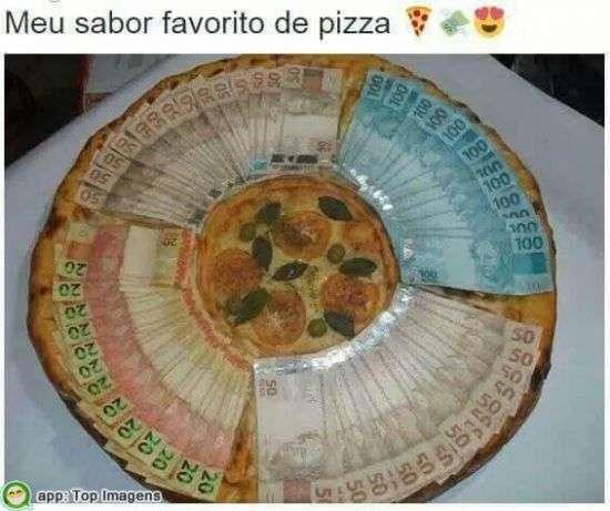 Minha pizza preferida