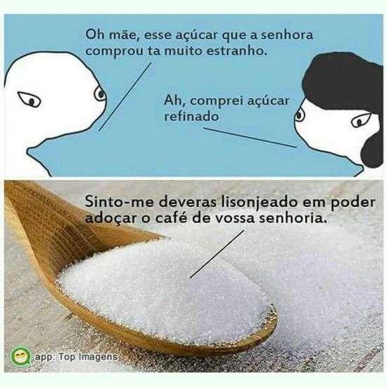 Açúcar estranho