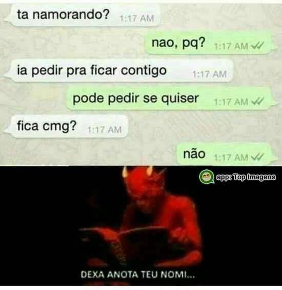 Conversa do whatsapp