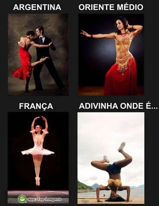 Dança em outros países