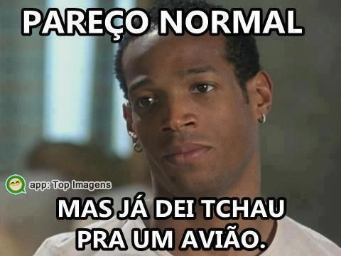 Pareço normal