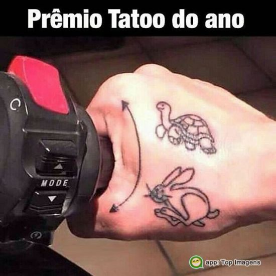Tatoo do ano