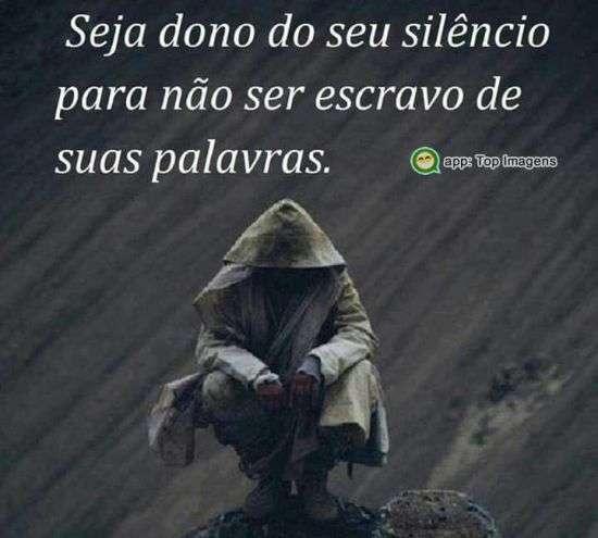 Dono do seu silêncio