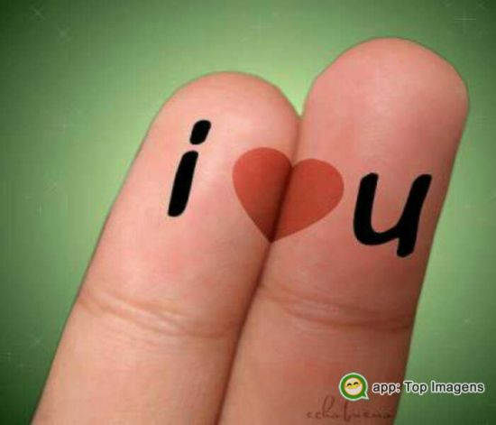 Eu amo você