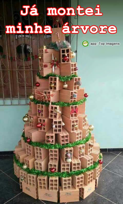 Já montei minha árvore