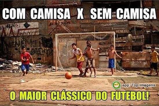 O maior clássico do futebol