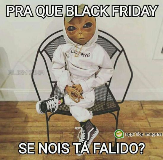 Pra que black friday