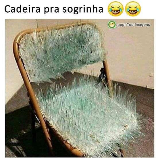 Cadeira pra sogrinha