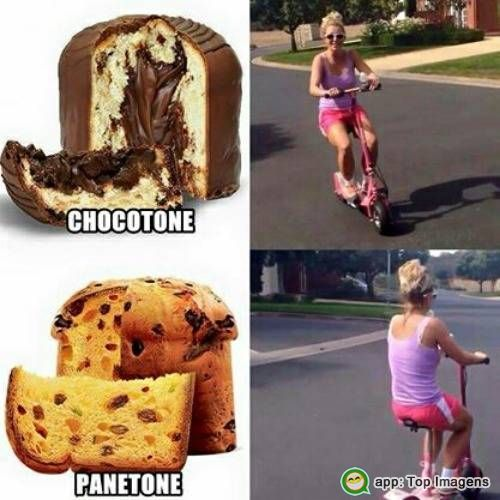Chocotone ou panetone