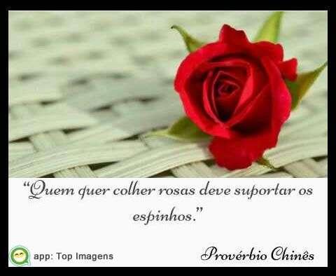 Colher rosas