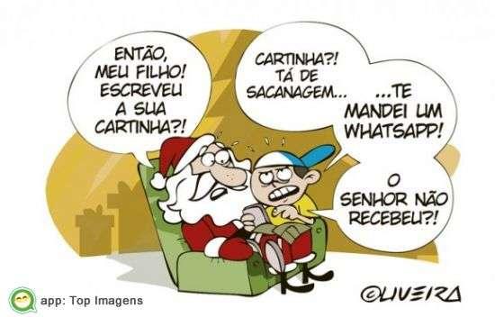 Mensagem para Papai Noel
