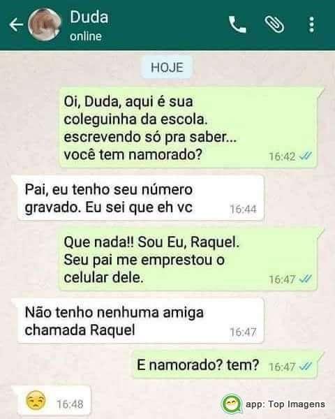 Pai no Whatsapp