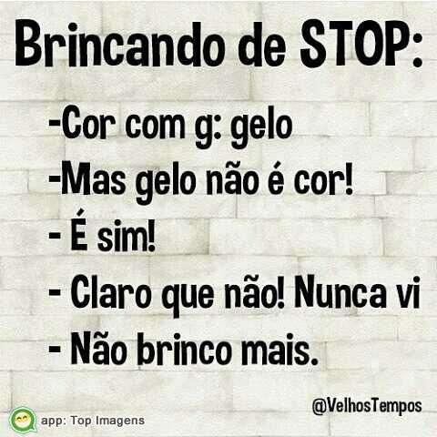 Brincado de Stop