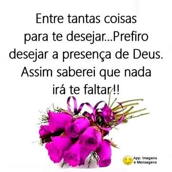 Desejar a presença de Deus