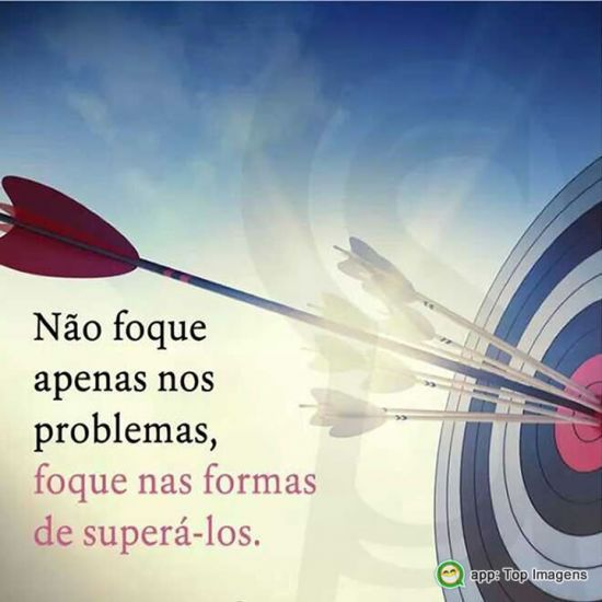 Foque na forma de superar