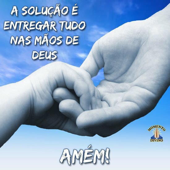 Nas mãos de Deus