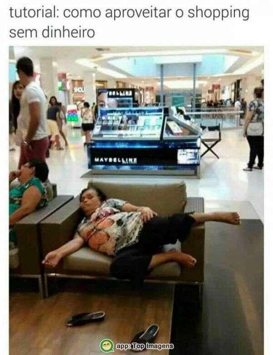 Como aproveitar o shopping