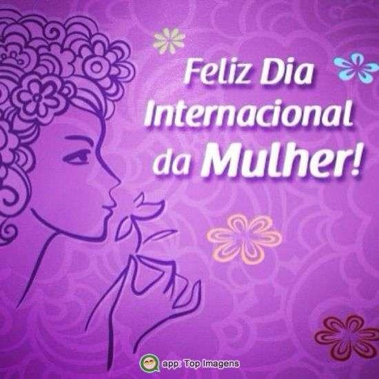 Feliz dia da mulher