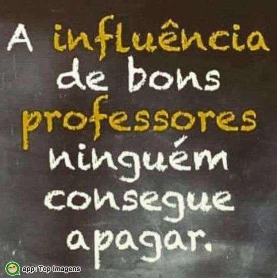 Influência de bons professores