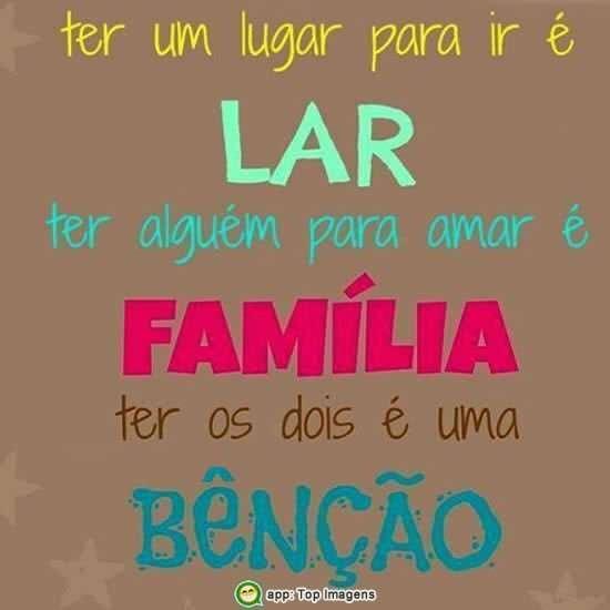 Lar e família