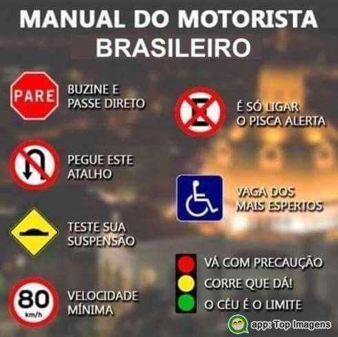 Motorista brasileiro